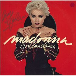 Madonna Signed You Can Dance Album
