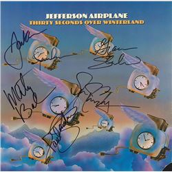 Jefferson Airplane Signed Thirty Seconds Over Winterland Album