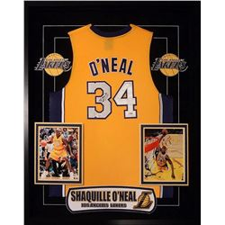 Shaquille O'Neal Signed Lakers Jersey