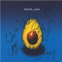 Pearl Jam Signed Self-Titled Album