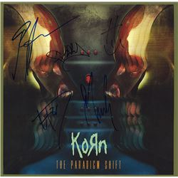 Korn Signed The Paradigm Shift Album