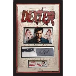 Dexter Framed and Signed Knife