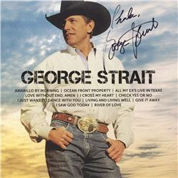George Strait Signed Icon Album
