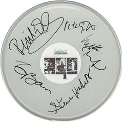 Genesis Signed Drum Head