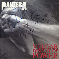 Pantera Signed Vulgar Display of Power Album