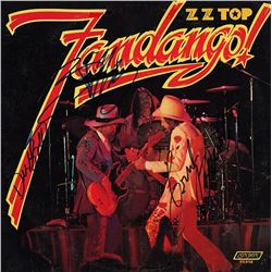 ZZ Top Signed Fandango Album