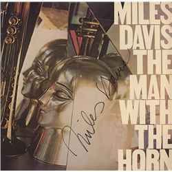 Miles Davis Signed The Man With the Horns Album