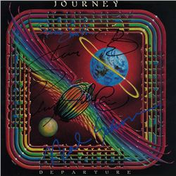 Journey Signed Departure Album