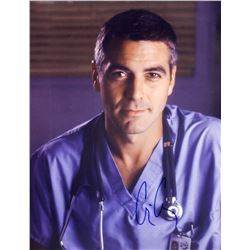 George Clooney Signed ER Photo