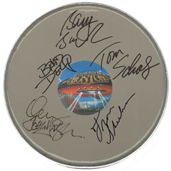 Boston Signed Drum Head