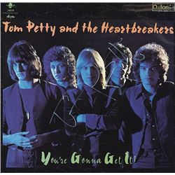 Tom Petty Signed You're Gonna Get It Album