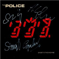 The Police Signed Ghost in the Machine Album