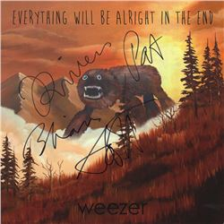 Weezer Signed Everything Will be Alright in the End Album