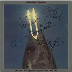 REO Speedwagon  Signed You Can Tune a Piano, But You Can't Tuna Fish Album