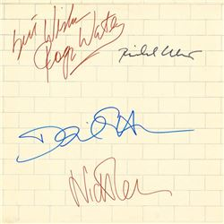 Pink Floyd Signed The Wall Album