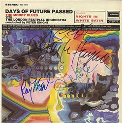 The Moody Blues Signed Days of Future Passed Album