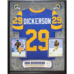 Eric Dickerson Signed Rams Jersey