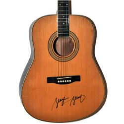 George Strait  Signed Guitar