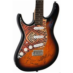 The Outlaws Signed Guitar