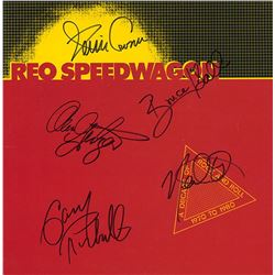 REO Speedwagon Signed A Decade of Rock and Roll Album