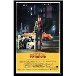 Taxi Driver - Signed Movie Poster