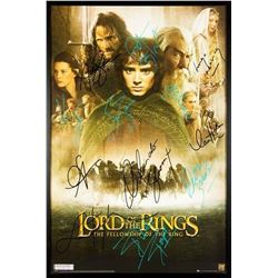 Lord of the Rings - The Fellowship of the Ring - Signed Movie Poster