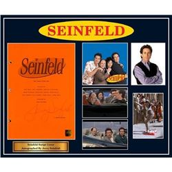 Seinfeld - Signed Movie Script in Photo Collage Frame