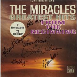 Smokey Robinson And The Miracles Signed Greatest Hits From the Beginning Album