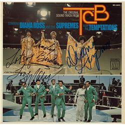 The Supremes Signed TCB Album