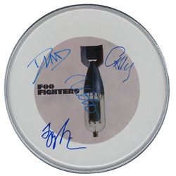 Foo Fighters Signed Drum Head
