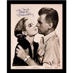 Grace Kelly Autographed Photo from the Movie 'Green Fire'