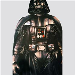LifeSize Star Wars Darth Vader Cardboard Standup Signed by Cast