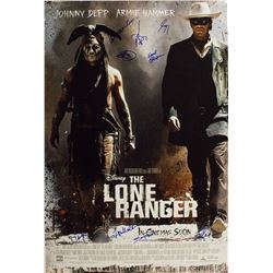 Lone Ranger - Signed Movie Poster