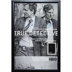 True Detective Signed and Framed Poster