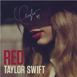Taylor Swift Signed Red Album