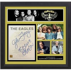 Eagles Life In The Fast Lane Signed Lyrics