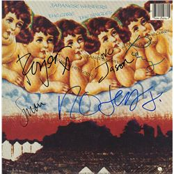 The Cure Signed Japanese Whispers Album