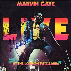 Marvin Gaye Signed Live at the London Palladium Album