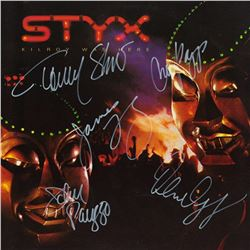 Styx Signed Kilroy Was Here Album