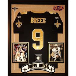 Drew Brees Signed Saints Jersey