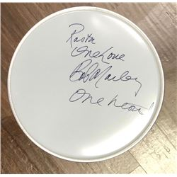 Bob Marley Signed and Inscribed Drum Head