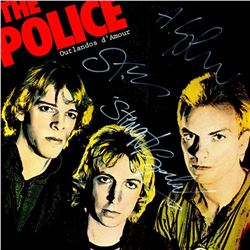 The Police Signed Outlandos dAmour Album