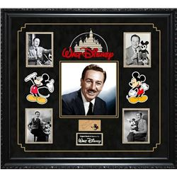 Walt Disney Autographed Photo Collage