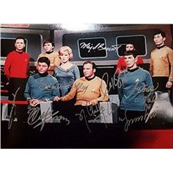 Star Trek Signed Photo
