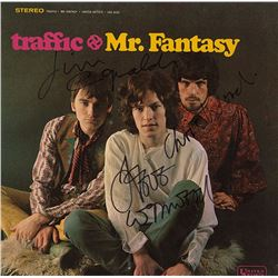 Traffic Signed Mr. Fantasy Album