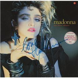 Madonna Signed The First Album