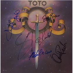 Toto  Signed Self-Titled Album