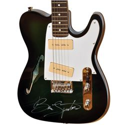 Bruce Springsteen Signed Guitar