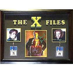 X-Files Signed Collage