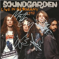 Soundgarden Signed Live in Germany 1990 Album